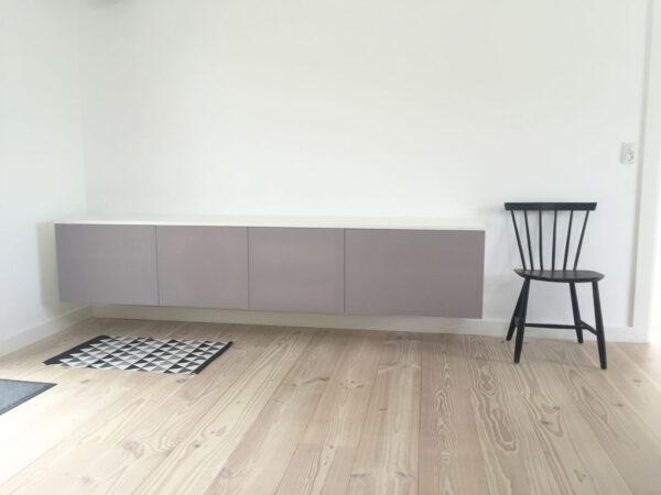 hvidt tv møbel