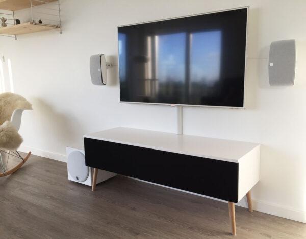 lille tv bord på ben