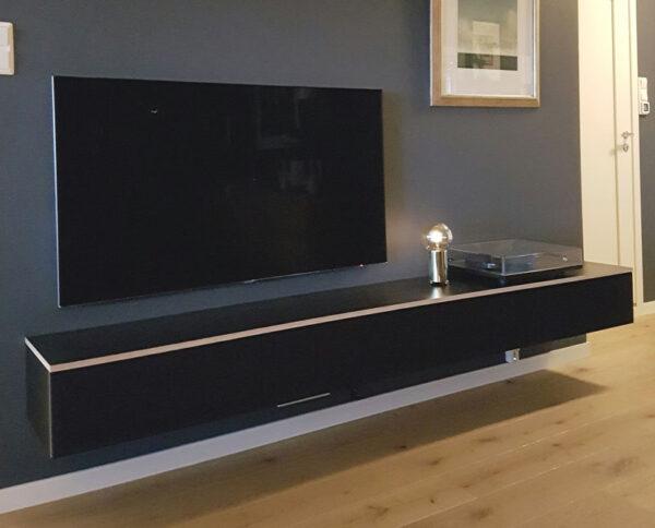 tv reol i sort